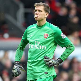 Wojciech Szczesny is targeting the four wins Arsenal may need to clinch fourth