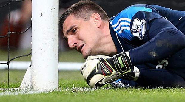 Vito Mannone's howler cost Sunderland victory at Manchester City