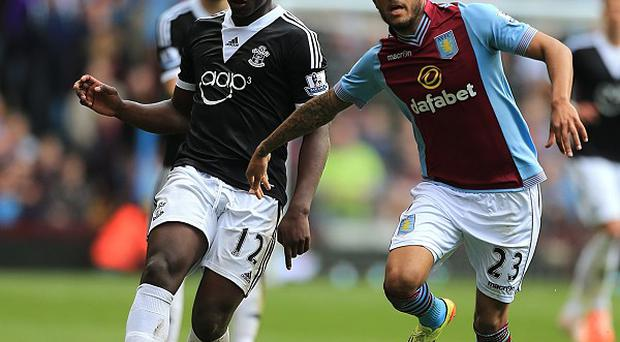 Ryan Bertrand, right, impressed for Aston Villa