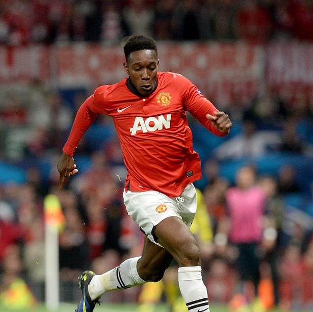 David Moyes wants Danny Welbeck, pictured, to stay at Manchester United