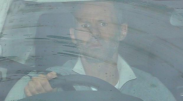 Manchester United's Ryan Giggs arrives at the clubs' AON Training Complex, Carrington.