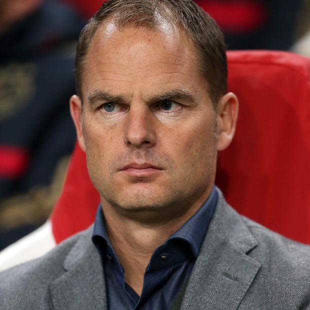 "Frank de Boer says he will ""talk and listen"" to Spurs at the end of the Dutch season"
