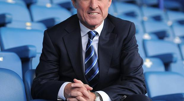 Everton chief executive Robert Elstone spoke about the progress of new stadium plans at the club's 2014 General Meeting at Liverpool Pilharmonic Hall