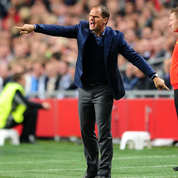 Frank de Boer would be interested in becoming Tottenham's next manager