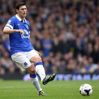 Gareth Barry is unable to face parent club Manchester City on Saturday