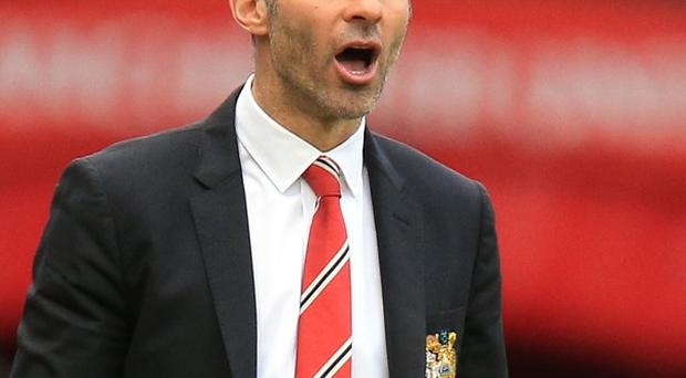 Louis Saha believes Ryan Giggs, pictured, has what it takes to manage Manchester United permanently