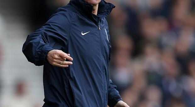 Crystal Palace manager Tony Pulis has been named Barclays Premier League manager of the month for April