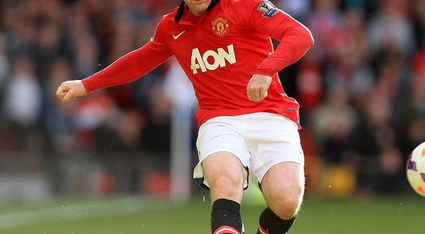 Wayne Rooney's injury is not said to be serious