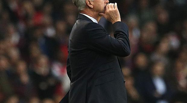 Manager Alan Pardew wants to keep the pressure off his players