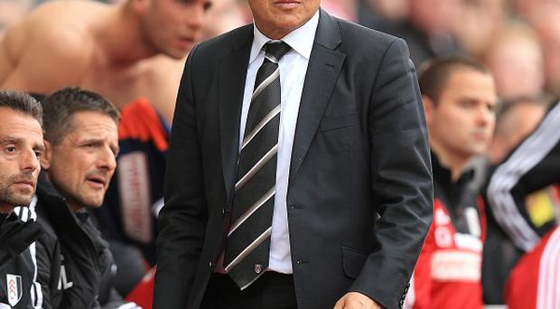 Felix Magath wants to remain as Fulham manager despite their relgation from the Premier League