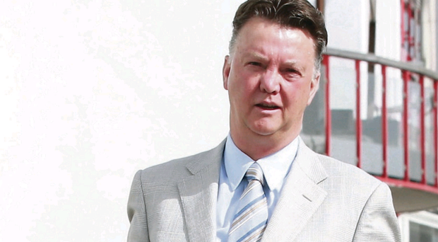 Louis van Gaal has said he wants to be Manchester United's next manager