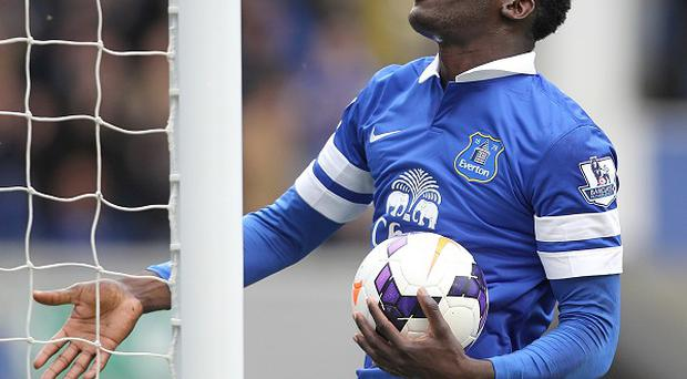 Romelu Lukaku has scored 17 goals on loan at Everton this term