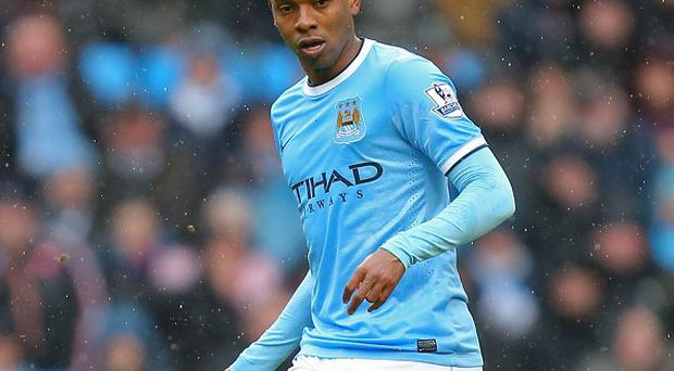 Fernandinho, pictured, hopes to win the title with Manchester City and then feature in the World Cup