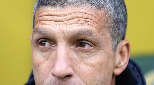 Chris Hughton, pictured, is the favourite to become manager of West Brom
