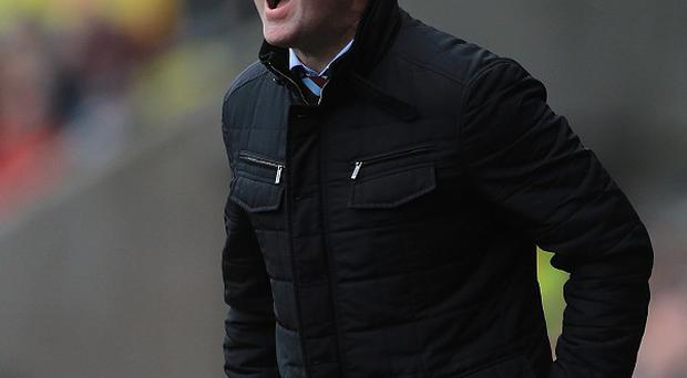 Paul Lambert is determined to improve Aston Villa's fortunes