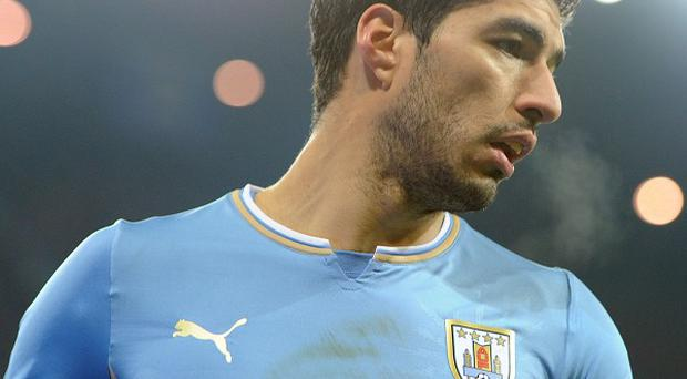 Luis Suarez has reportedly sustained a knee injury during Uruguay training