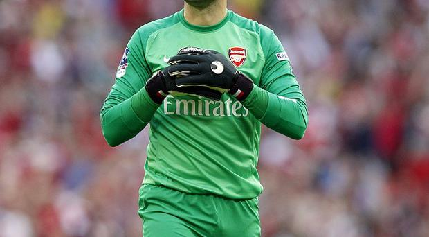 Lukasz Fabianski was sent off against West Ham