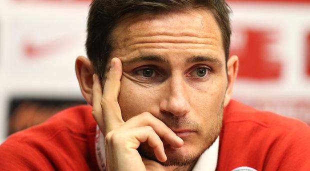 Frank Lampard expects this summer to be his last with England