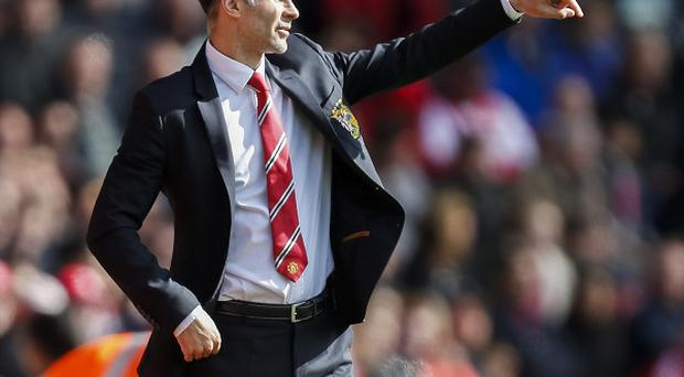 Ryan Giggs was emotional after his brief spell as Manchester United caretaker manager