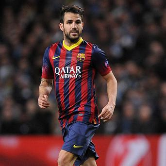 Cesc Fabregas will be playing his club football in England once again