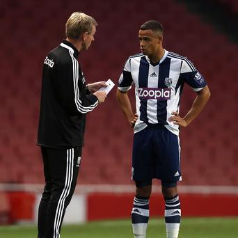 David Oldfield, left, has left his post with West Brom