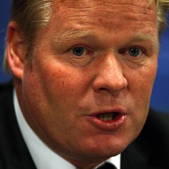 Ronald Koeman has been given a three-year contract as manager at Southampton