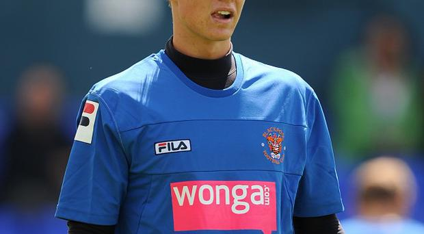 Goalkeeper Chris Kettings has signed for Crystal Palace following his release from Blackpool at the end of last season