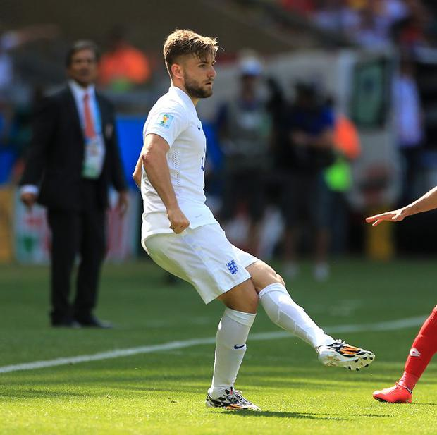 England international Luke Shaw, left, has swapped Southampton for Manchester United