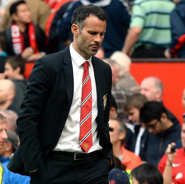 Manchester United interim manager Ryan Giggs admits he was not ready to be in charge of the club last season