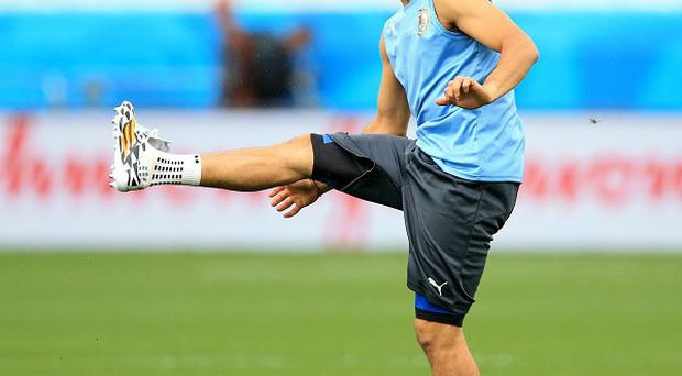 Uruguay's Luis Suarez will not be allowed to undergo training under his FIFA ban