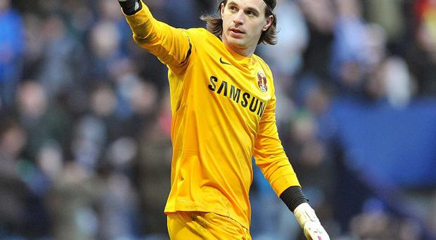 Eldin Jakupovic spent time on loan at Leyton Orient last season