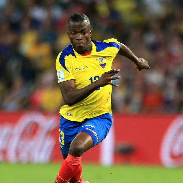 Enner Valencia is undergoing a medical at West Ham