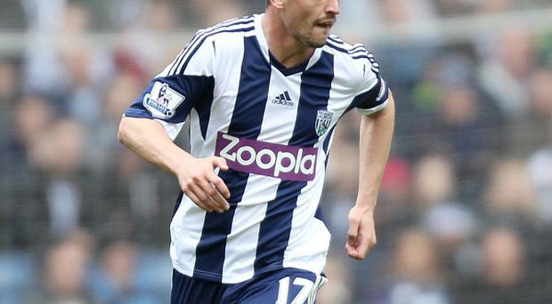 Graham Dorrans will remain with West Brom for the foreseeable future