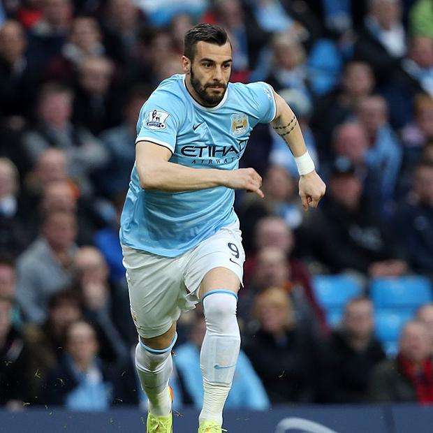 Alvaro Negredo has no intention of moving on from Manchester City