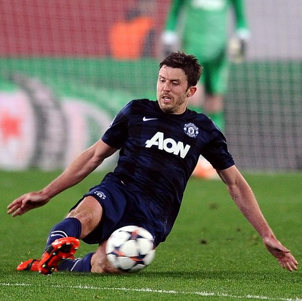 Michael Carrick's injury is a 'big blow' for new manager Louis van Gaal