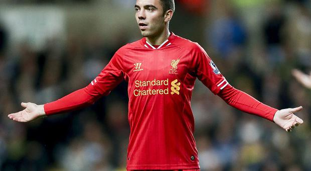 Iago Aspas struggled to make an impact on the field for Liverpool