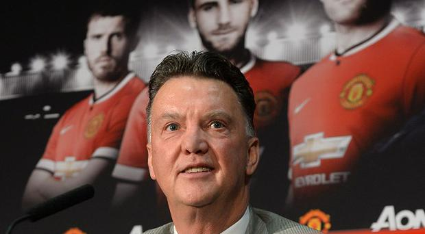 Manchester United manager Louis van Gaal is getting to know his players in the United States