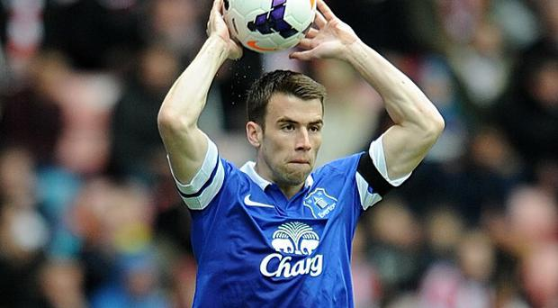 Everton's Seamus Coleman has a hamstring problem