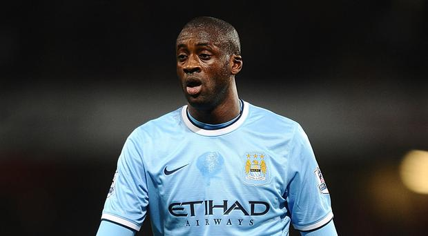Yaya Toure has insisted his future lies with Manchester City