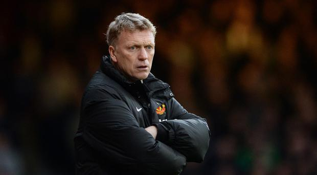 David Moyes had a spell to forget as Manchester United boss