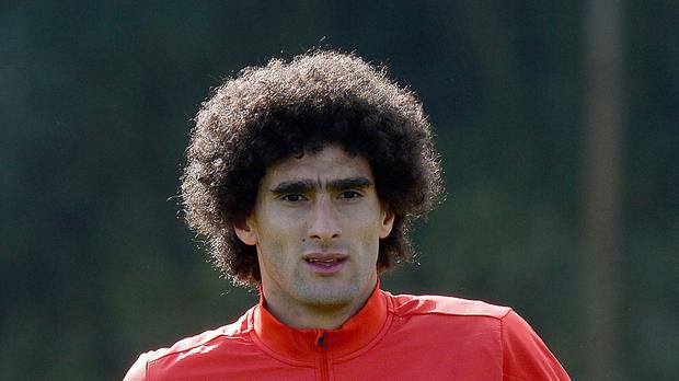 Marouane Fellaini could be offered a route out of Manchester United