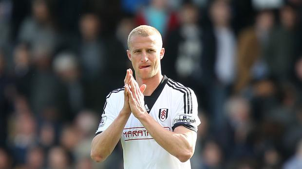 Brede Hangeland played over 200 league games for relegated Fulham