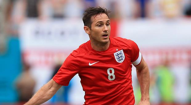 Frank Lampard called time on his international career after a disappointing World Cup in Brazil