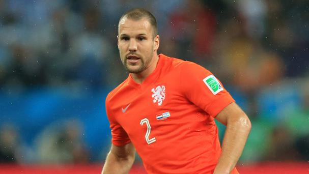 Ron Vlaar enjoyed an excellent World Cup for Holland