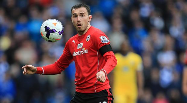 Jordon Mutch has completed his move from Cardiff to QPR
