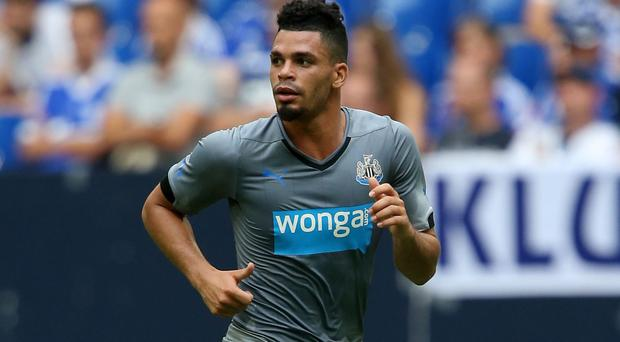 Emmanuel Riviere scored for Newcastle in their 2-2 draw with Huddersfield