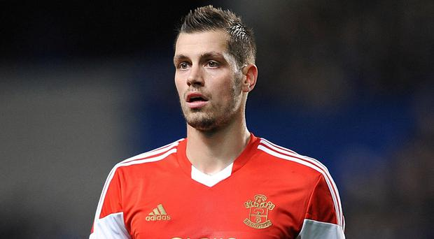Morgan Schneiderlin will not feature for Southampton against Bayer Leverkusen on Saturday