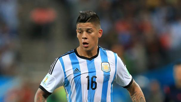 Marcos Rojo represented Argentina at this summer's World Cup