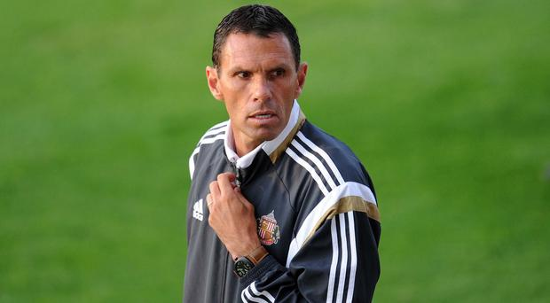 Sunderland manager Gus Poyet is hoping his side will carry the momentum from last season into this