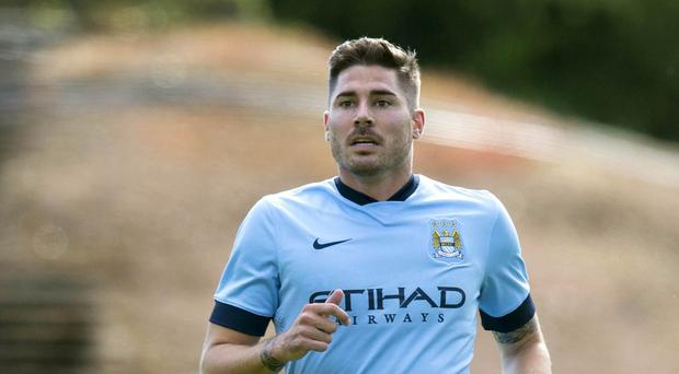 Javi Garcia looks set to leave Manchester City